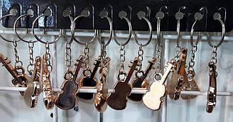 Брелки на ланцюжку гітара