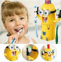 Диспансер, миньен, для, зубной пасты, щеток, стильный, качественный, автоматический дозатор для зубной пасты