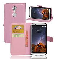 Чехол-книжка Litchie Wallet для ZTE Axon 7 Mini  Светло-розовый, фото 1