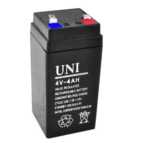 Акумулятор UNI 4V / 4AH