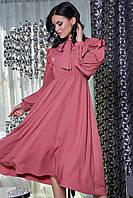 Платье 12-1463 - розовый: XS-XL, фото 1