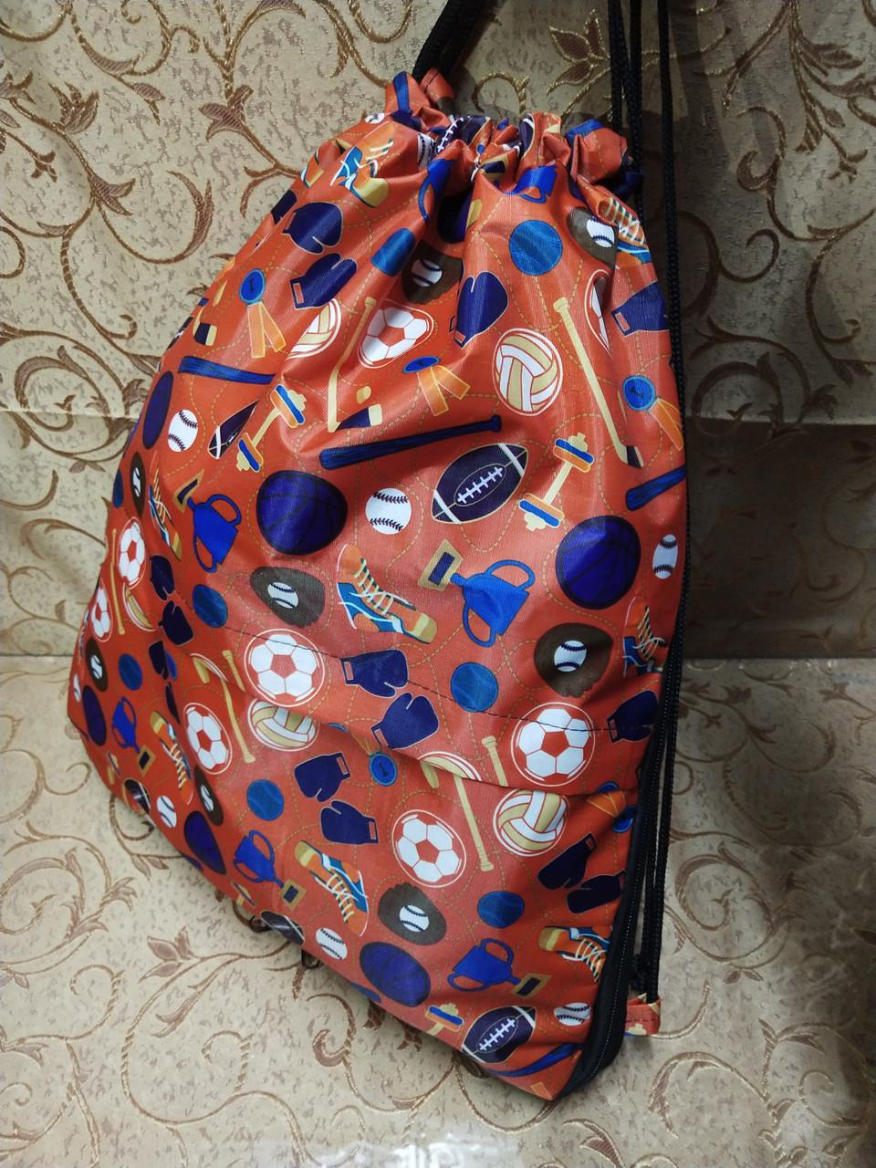 ПРИНТ cумка рюкзак-мешок для обуви(только ОПТ )