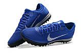 Сороконожки Nike Mercurial VaporX VII Pro TF blue, фото 2