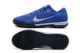 Сороконожки Nike Mercurial VaporX VII Pro TF blue, фото 7