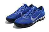Сороконожки Nike Mercurial VaporX VII Pro TF blue, фото 8