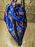 ПРИНТ cумка рюкзак-мешок для обуви(только ОПТ ), фото 4