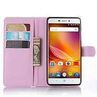 Чехол-книжка Litchie Wallet для ZTE Blade X9 / V5 Pro Светло-розовый