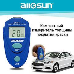 Толщиномер all sun EM2271. Тестер толщины покрытия. Car Paint Tester. Измеритель толщины краски авто.