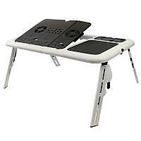 Раскладывающийся столик для ноутбука с вентилятором E-Table LD-09 130457