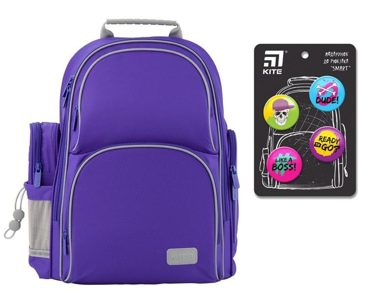 Рюкзак полукаркасный школьный Kite Education Smart K19-702M-3