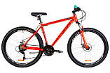 """Горный велосипед OPTIMABIKES AL MOTION DD AM 29""""(сине-оранжевый)20r, фото 4"""