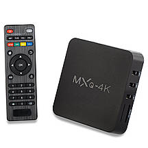 Смарт ТВ-приставка TV Box Smart на Android (Android) MXQ4k 1/8, ОЗУ 1GB HDD 8GB