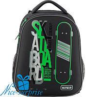 Ортопедический каркасный рюкзак для мальчика Kite Skateboard K19-731M-2