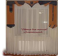 Жесткий ламбрикен Джинс, фото 1