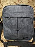 (Новый стиль)Барсетка NIKE Сумка спортивные мессенджер для через плечо Унисекс ОПТ, фото 2