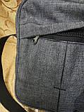 (Новый стиль)Барсетка NIKE Сумка спортивные мессенджер для через плечо Унисекс ОПТ, фото 5