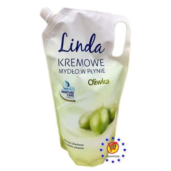 Жидкое крем-мыло Linda Оливка 1000 мл.