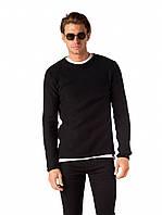 Мужской вязаный свитер Jarah Black от !Solid в размере XL