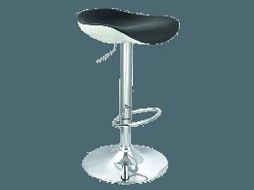 Барный стул C-631 Signal черно-белый