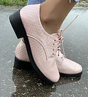 Красивые женские туфли на шнурках,36р.(23,5см)  ЧИТАЙТЕ ПОЛНОСТЬЮ ОПИСАНИЕ ТОВАРА!!!, фото 1