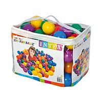 Intex Набор мячей 49600 (6) 100шт в упаковке, d=8см