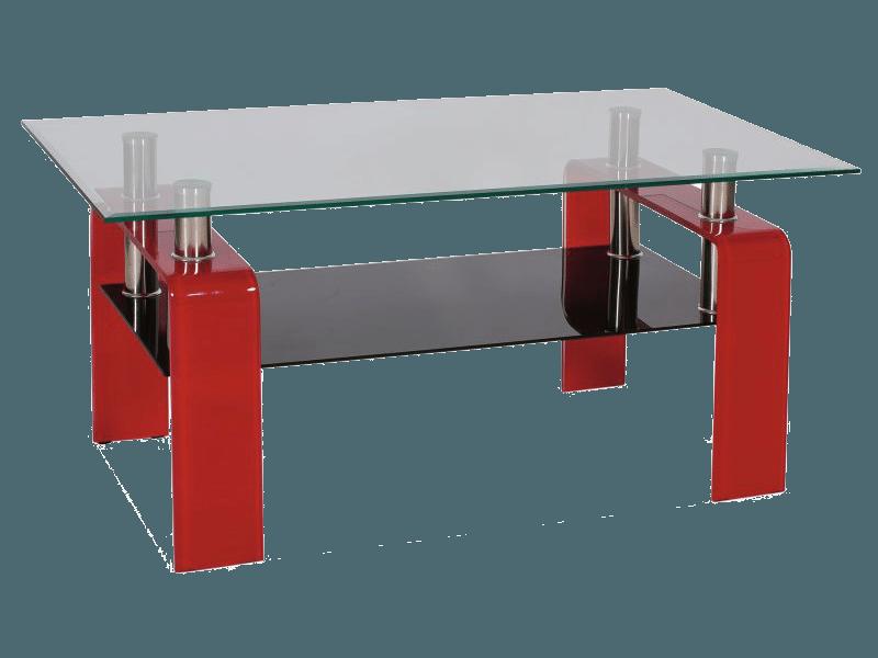 Журнальный столик Stella Signal красный