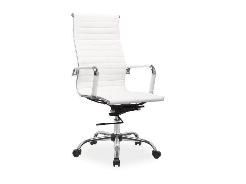 Компьютерное кресло Q-040 Signal белый