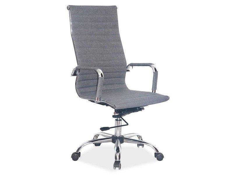Компьютерное кресло Q-040 Signal серый ткань