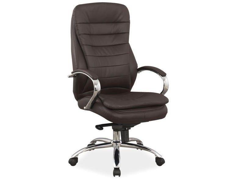 Компьютерное кресло Q-154 Signal коричневый