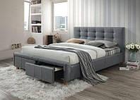 Кровать ASCOT 160x200 Signal серый