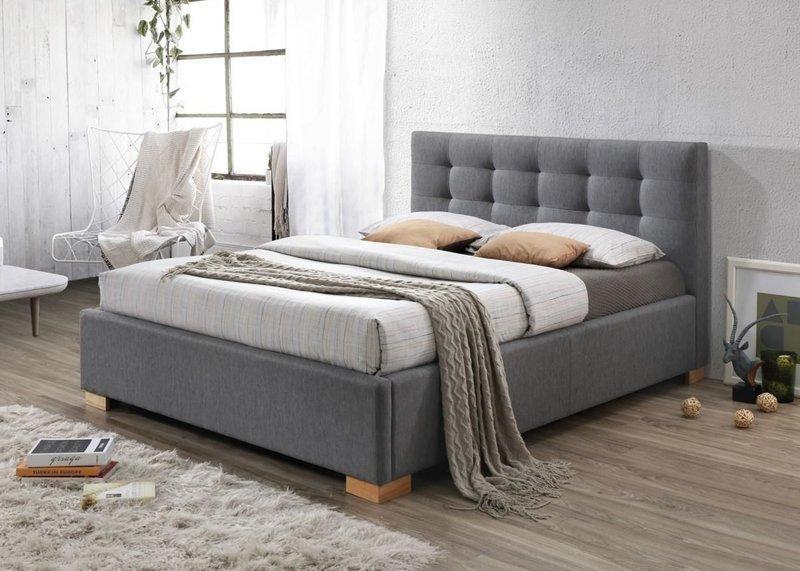 Кровать COPENHAGEN 160x200 Signal серый