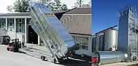 Мобильная шахтная зерносушарка STELA, модель Universal 35