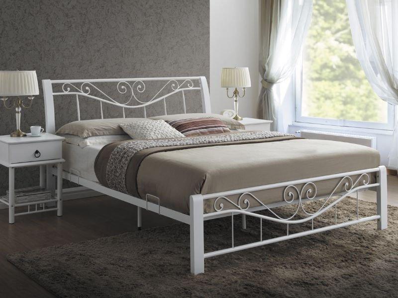 Кровать Parma 160x200 Signal белый