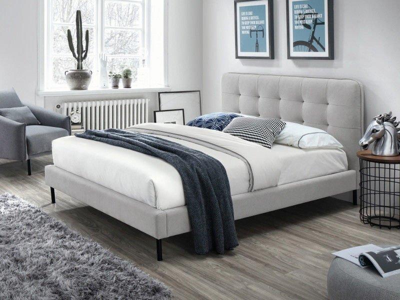 Кровать SALLY 160x200 Signal серый