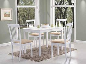 Стол обеденный деревянный Fiord Signal белый