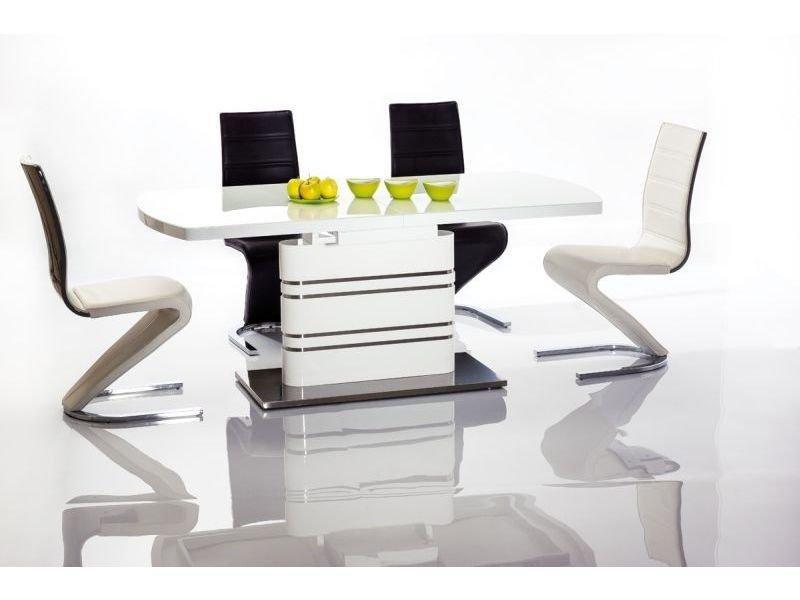 Стол обеденный деревянный GUCCI 180-240x90 Signal белый