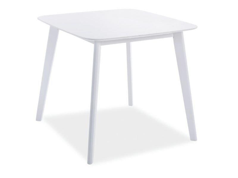 Стол обеденный деревянный Sigma Signal белый