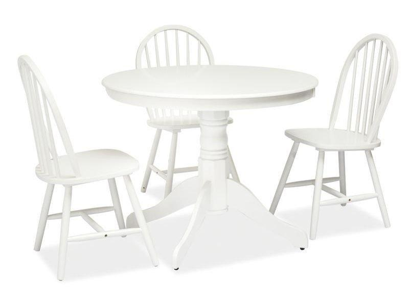 Стол обеденный деревянный Windsor Signal белый