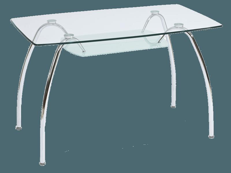 Стол обеденный стеклянный Arachne I Signal 120*70
