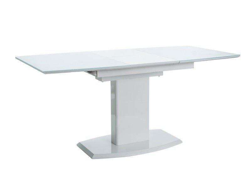 Стол обеденный стеклянный AUSTIN Signal 120х80