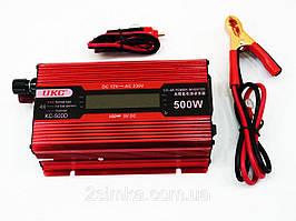 Преобразователь 500W KC-500D +LCD 12V