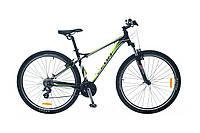 """Велосипед SKD 29"""" LEON TN 85 AM рама-16"""" Al черно-зеленый 2014"""