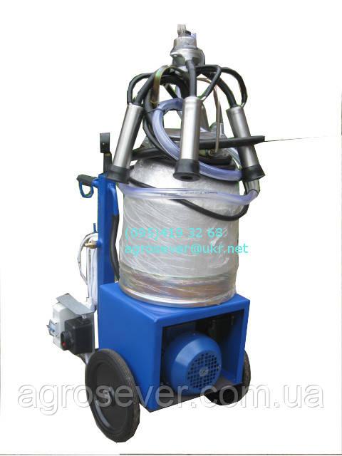Доильный аппарат АИД-1 (Масляный насос, стаканы высокопрочный пластик)
