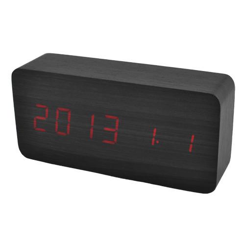 Часы сетевые 862-1 красные, USB