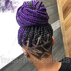 Канекалон (фиолетовый) 65*130 см, фото 2