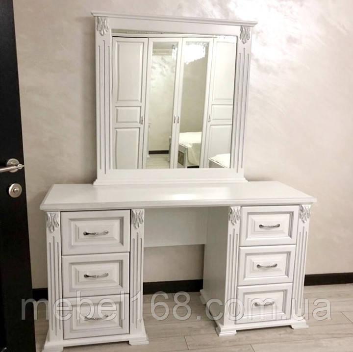 Туалетный столик Ларго с зеркалом