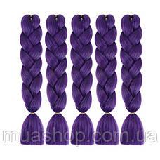 Канекалон (фиолетовый) 65*130 см, фото 3