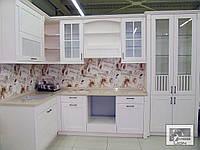 """Угловая кухня """"Тоскана"""" с кварцевой столешницей"""