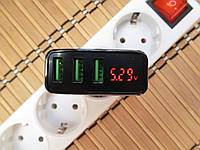 Зарядное устройство Rock 3хUSB (5V, 3A)