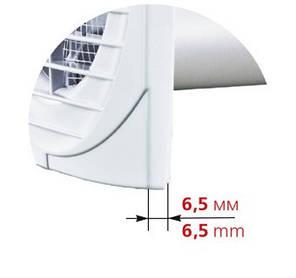 Бытовой вентилятор Вентс 100 Д, фото 2